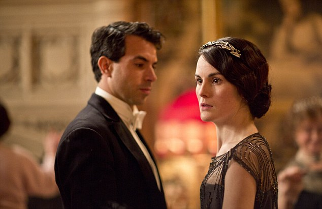 There were finally signs that Lady Mary will be allowed to talk to a man about something other than crop rotation and capital gains tax, as she bonded with Lord Gillingham - over death duties