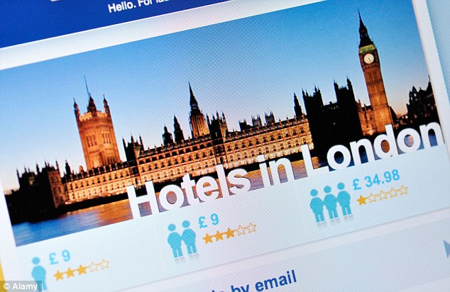 The Good Hotel Guide 2014 says British hoteliers have to pay 15 per cent plus VAT for each online booking
