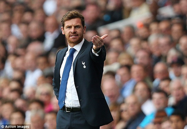 On the slide: Tottenham slipped down to sixth place with the defeat