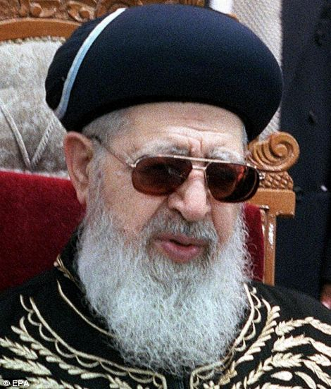 Rabbi Ovadia Yosef created the orthodox Shas party to support the rights of Middle Eastern Jews