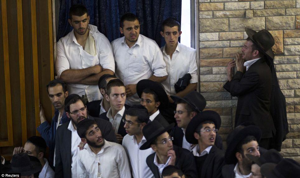 Yosef promoted engineering peace talks between Palestine and Israel
