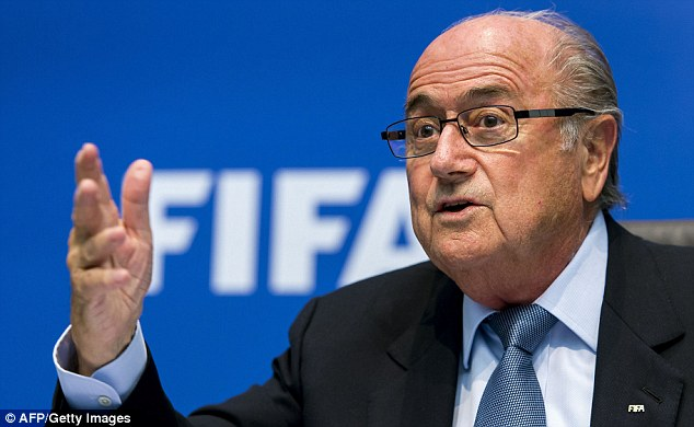 Shambles: Sepp Blatter has encouraged a probe into the World Cup 2018 and 2022 votes
