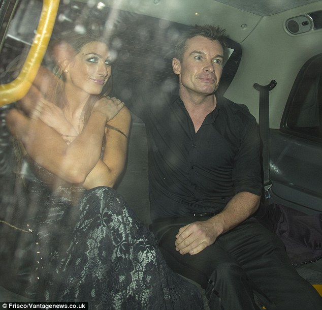 No chance! Realising her dress was perhaps a bit too revealing, Luisa protectively covered her chest as she headed home