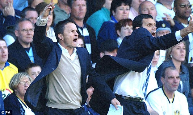 Dennis Wise and Gus Poyet