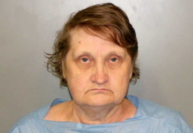 Killer: Alfreda Giedrojc is accused for murdering her own granddaughter using a sledgehammer and a carving knife