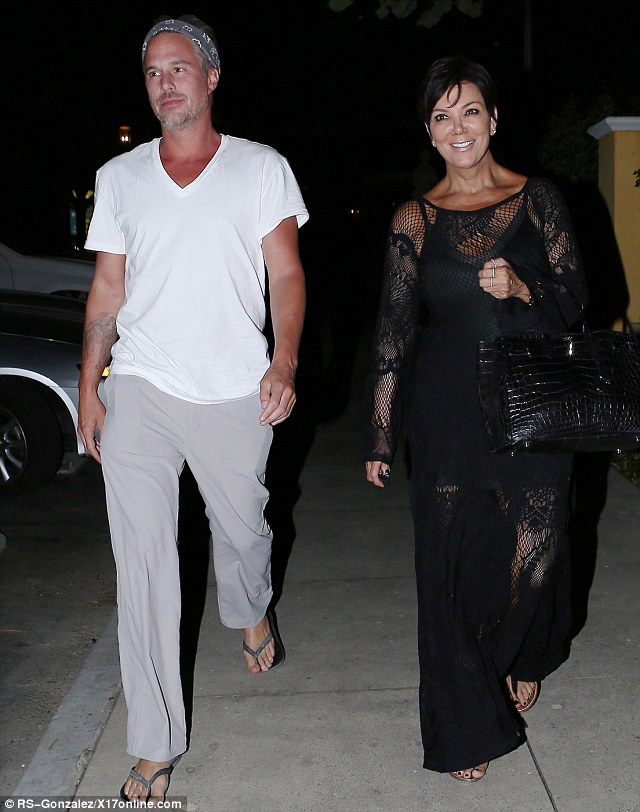 Business meeting? Kris Jenner has dinner with Britney Spear's ex Jason Trawick in Calabasas