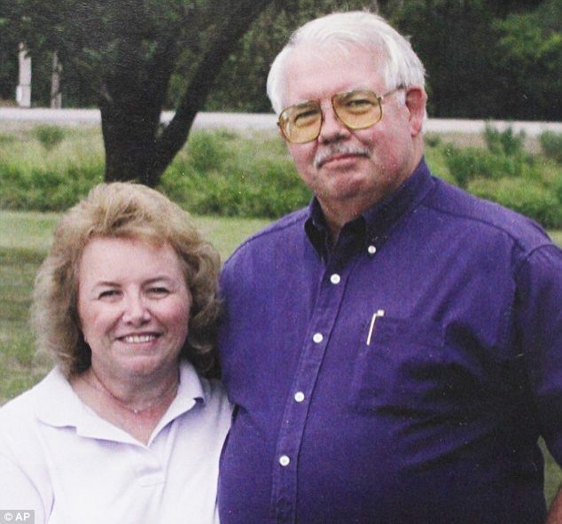 Killed: Gary and Linda Haas, both 61, were on their annual roadtrip when they were targeted for their trailer
