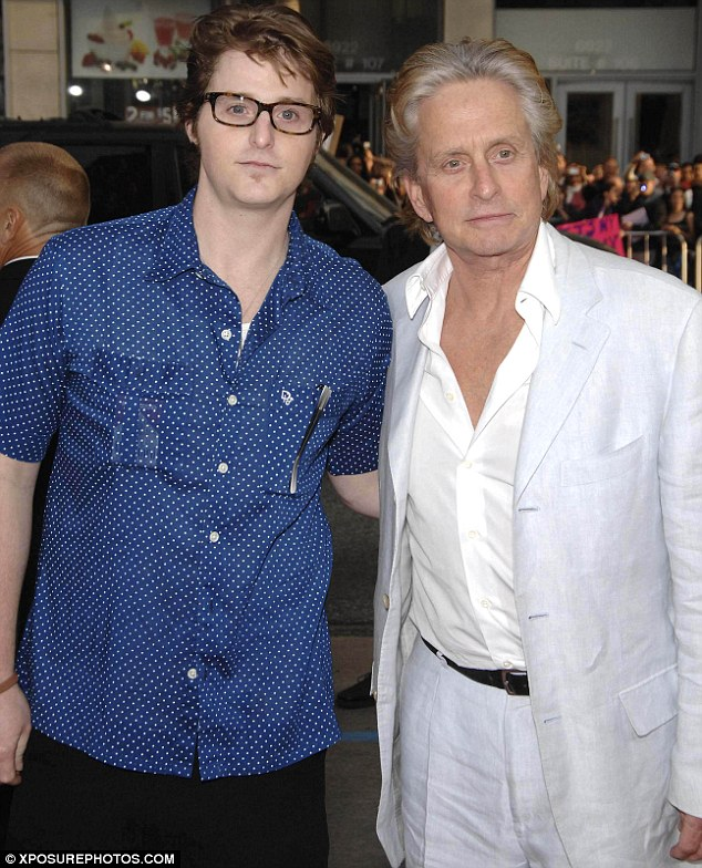 Separated: Michael hasn't seen his son in over a year, pictured in 2009