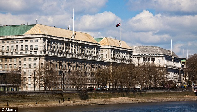 MI5 Headquarters in London. The leak was described as the greatest damage to Western security apparatus in history