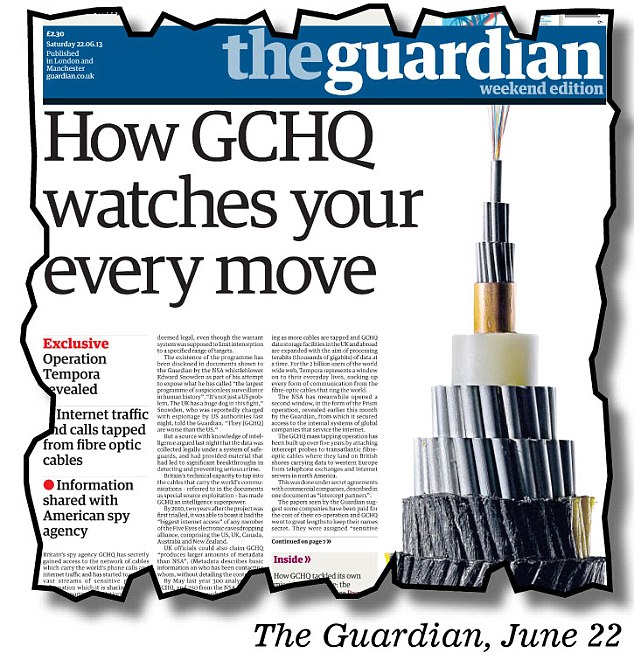 How The Guardian broke the news