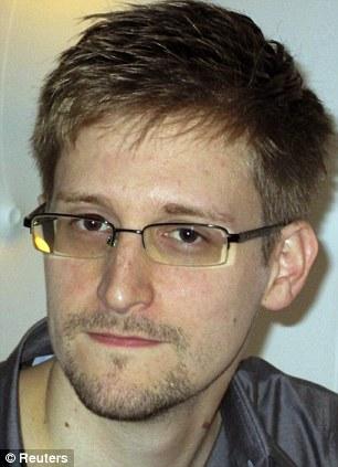 The leaker: Former NSA employee Edward Snowden