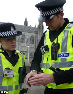 New weapon in fight against crime: Police officers in Aberdeen try out the new technology