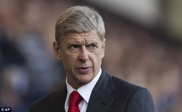 Forced hand: Manager Arsene Wenger wasn't able to lure his top transfer targets in the summer