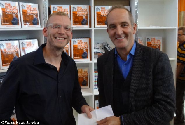 Ed Green's design impressed competition judge Kevin McCloud from Grand Designs