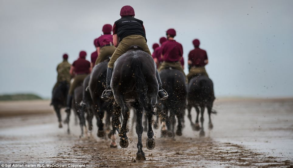'Beach Gallop' by Sgt Adrian Harlen RLC,