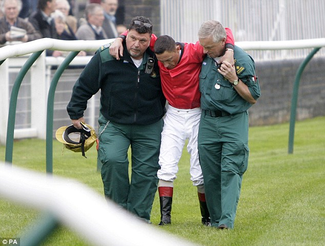 Bright side: Frankie Dettori could ride the record-breaking horse after his return from injury