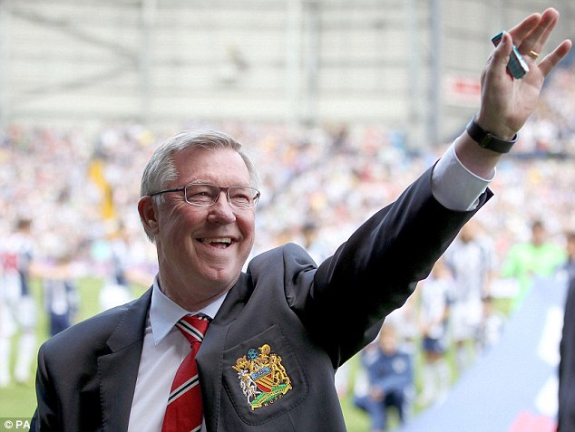 Full backing: Ferguson believes Moyes is the right man to take United forward despite a difficult start