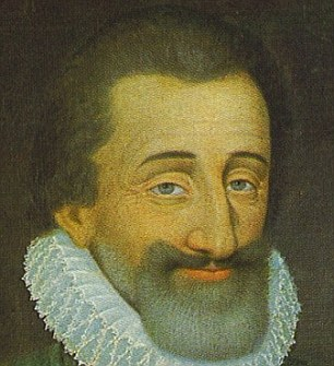 This image was a painting of King Henry IV of France from the 17th Century