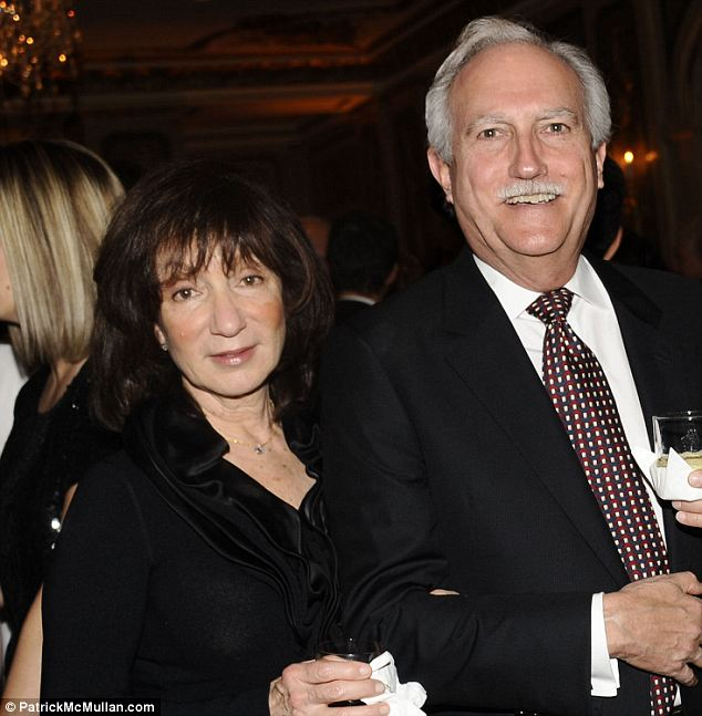 Parents: Jeff's mother Jackie (left) married his step father Mike Bezos (right) when Jeff was 4-years-old