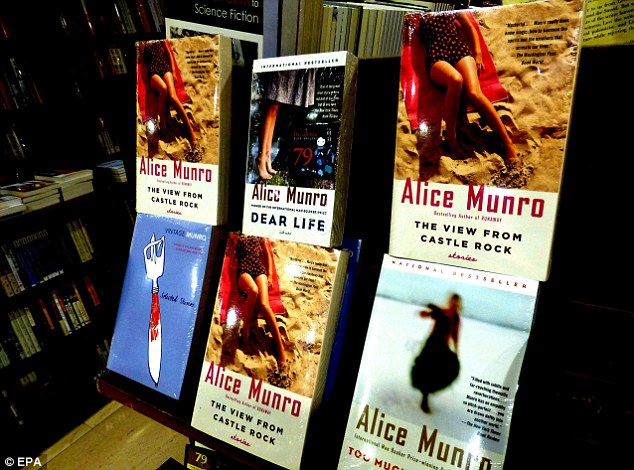 Timeless talent: Munro's books will likely see a resurgence in popularity after she was awarded the Nobel Prize for literature on Thursday