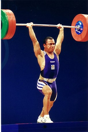 Incredible: Stephen remarkably made his trade worldwide as a weightlifter