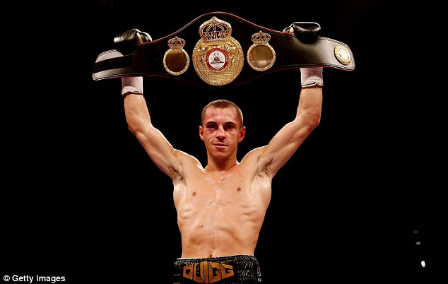 Defence: Scott Quigg won the super-bantamweight world title in October