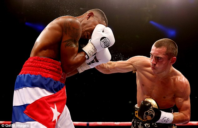 Points: Despite a slow start against Yoandris Salinas, Quigg did enough to win the title