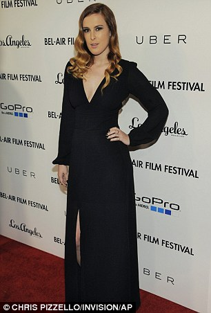 Honoree Rumer Willis poses at the 6th Annual Bel Air Film Festival at the Hammer Museum on Thursday