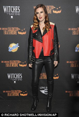 Rumer Willis arrives at the 5th Annual Los Angeles Haunted Hayride VIP premiere night at Griffith Park on Thursday