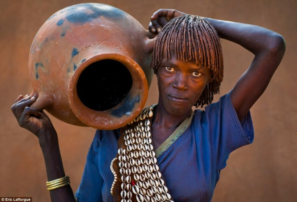 Work: Hamar women are responsible for all domestic duties including fetching water, cooking, cleaning the home and looking after the children