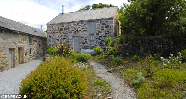 Transformed: Jan Bright's collection of three outbuildings on her Cornish farm