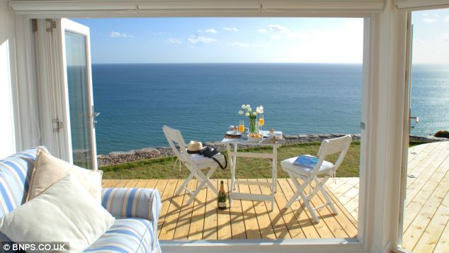 Sea view: A panoramic view from inside The Edge holiday home