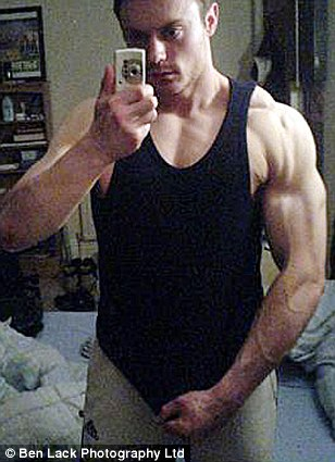 It is little wonder that Mike has now earned the nickname Mr Muscles