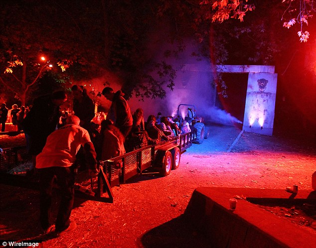 Enter if you dare: What is behind the Haunted Hayride's gates is a well guarded secret but the Griffith Park ride is a Los Angeles Halloween tradition