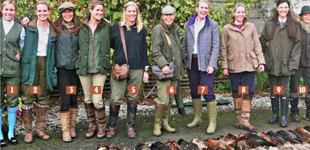 The pheasant posse: The ladies who make Pippa's party one of the most exclusive around