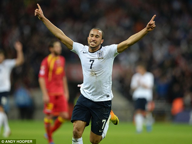 Man of the Match: Townsend couldn't have hoped for much better on his international debut