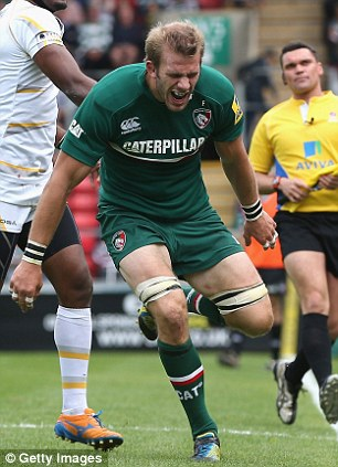 Tom Croft of Leicester Tigers