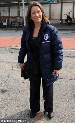 New love? Carol Day arranged travel for England teams