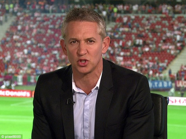 Open ideas: Mills has told Lineker that he should come out of the Match of the Day studio