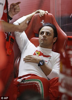Ferrari driver Felipe Massa