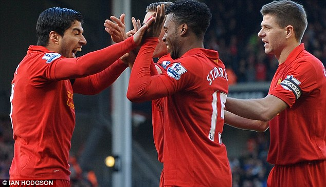 Red alert: Luis Suarez and Daniel Sturridge have been in excellent form so far this season