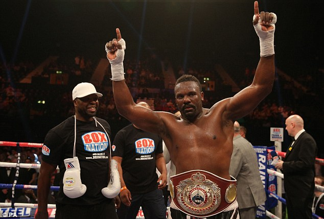 Aggressive: Dereck Chisora regularly proves he is anything but shy