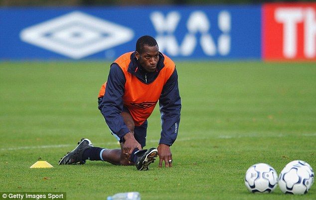 Agreement: Ugo Ehiogu, pictured training with England, says the commission should be more reflective considering the percentage of black players in the country