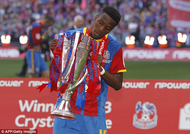 Good produce: Palace's youth system has already come up with the likes of Wilfried Zaha, now at Man United