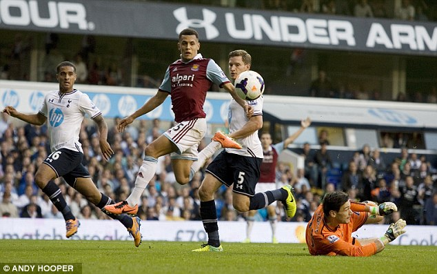 Wage rise: Ravel Morrison could be rewarded for his fine form of late as West Ham try to tie him down
