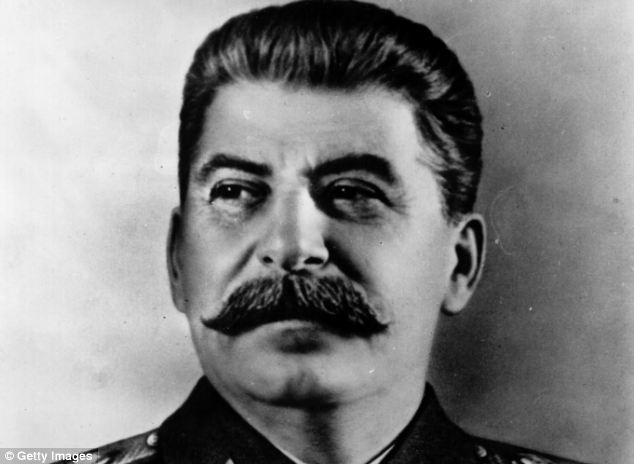'Shocking:' Mr Newman wrote of the rule of Joseph Stalin, right, in glowing terms