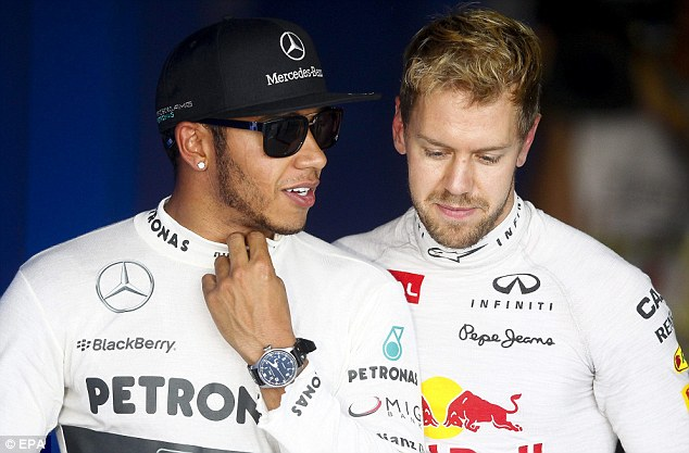 Looking ahead: Hamilton said he was looking forward to Christmas most from the remainder of the campaign