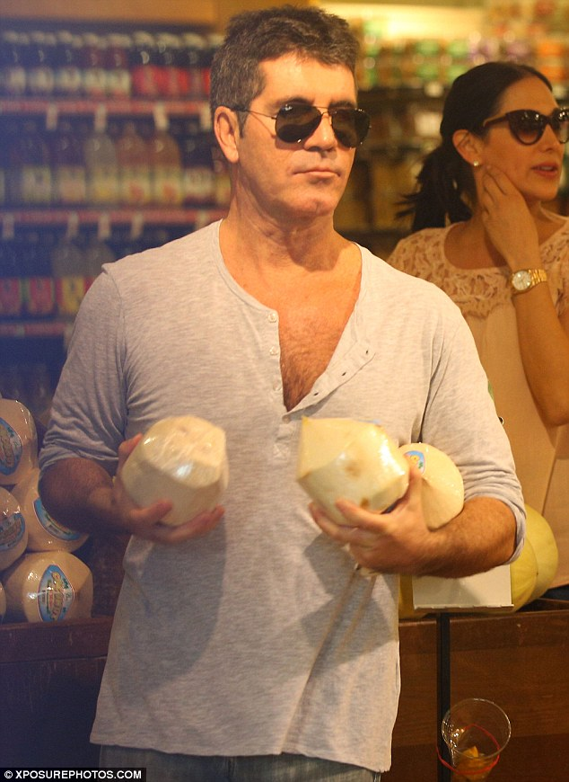 How do you like dem coconuts? Simon preferred his tropical goods