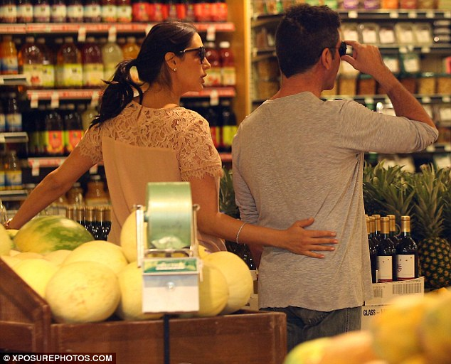 Time to be domestic! The couple later went grocery shopping at Whole Foods Market