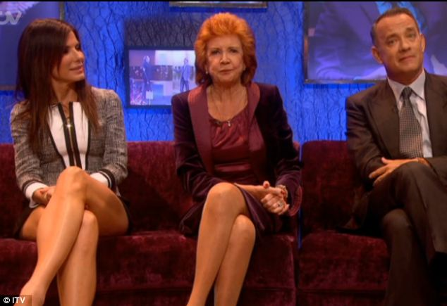 Star quality: The Jonathan Ross Show enjoyed an A-list set of guests with Sandra Bullock, Cilla Black and Tom Hanks